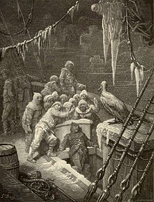 from Rime of the Ancient Mariner - The Albatross by Doré