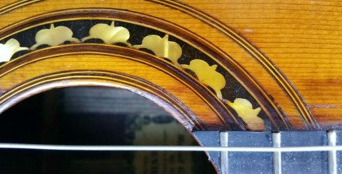 rosette of Manuel Gutierrez guitar, 1854, Sevilla